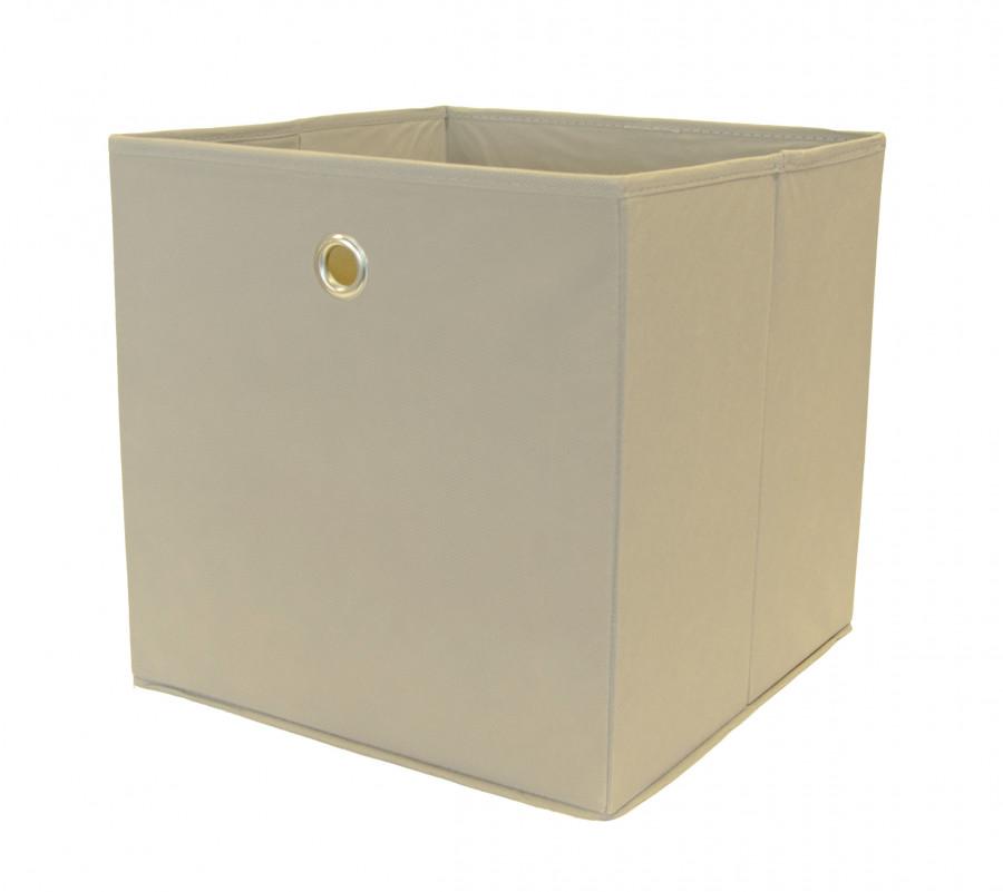 Faltbox, 2 Stück, Farbe Grau