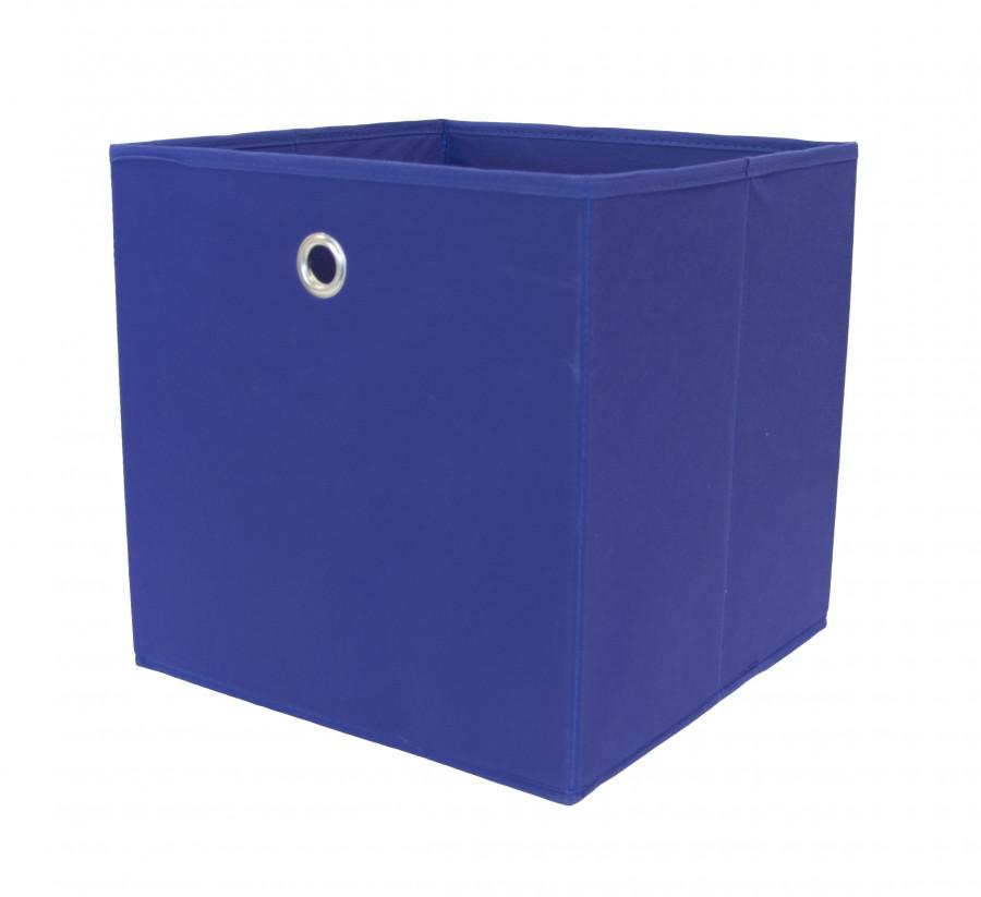 2er Set Faltbox, Farbe Blau