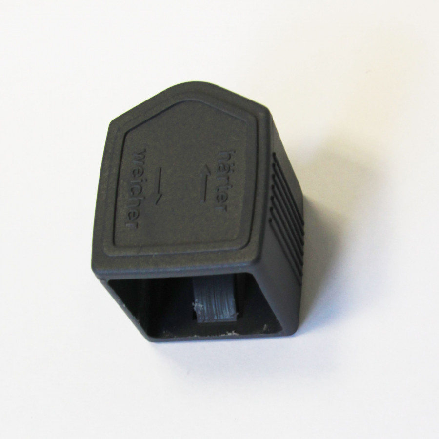 6 Stück Härtegradschieber 25-12 mm