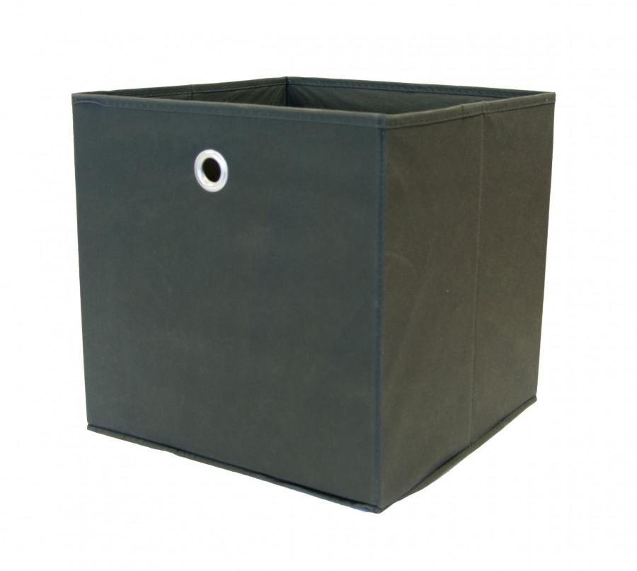 Faltbox, 2 Stück, Farbe Anthrazit
